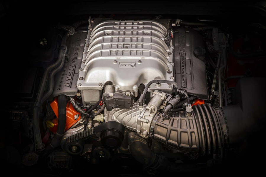 2018 Jeep Grand Cherokee Trackhawk - engine