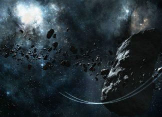 Asteroid digital art