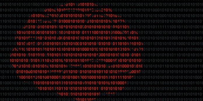 Brain in binary code
