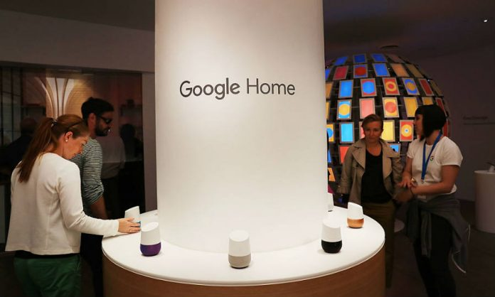 Google home exhibition
