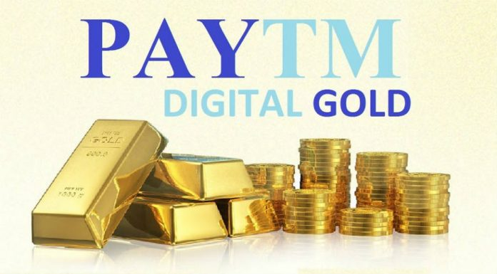 Paytm;digital gold; India