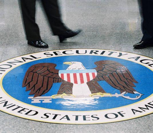 NSA floor logo