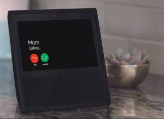 Amazon Echo mom call incoming