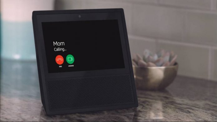 Amazon Echo mom call incoming