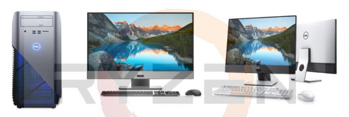 Dell ryzen desktop computers