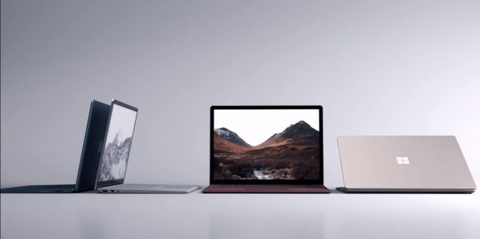 Microsoft Surface Laptop Photo.