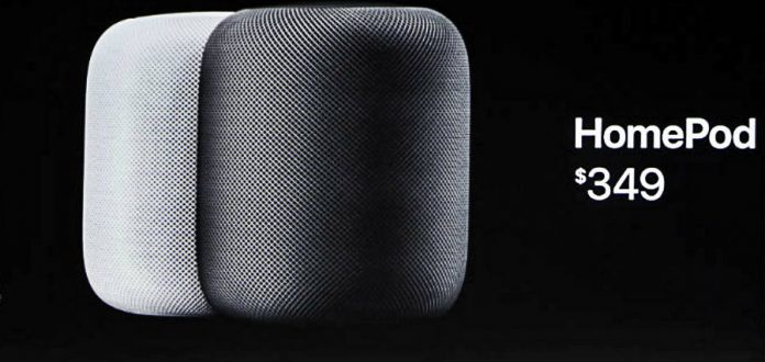 Apple HomePod costs $349