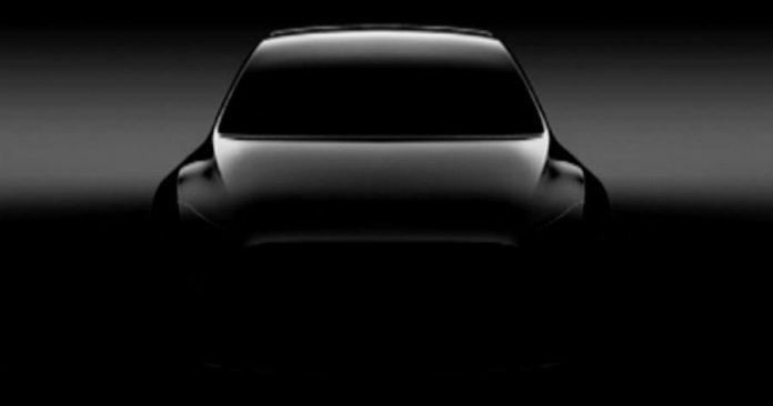 Tesla Model Y concept