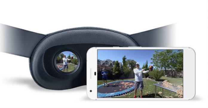 Google, Daydream, VR180