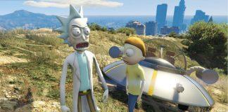 Rick and Morty GTA mod