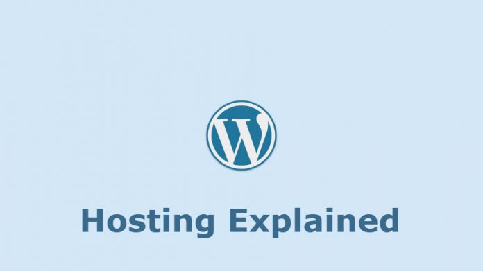 WordPress hosting explained.