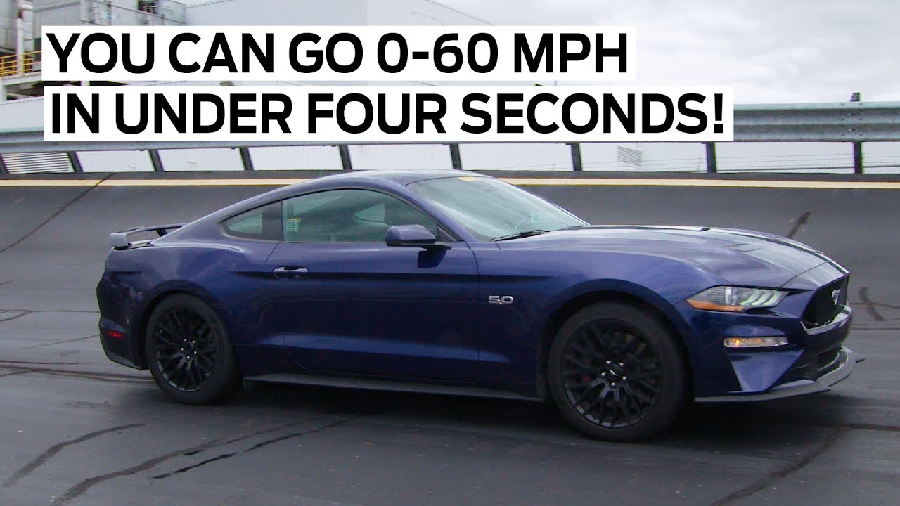 ford mustang gt 2018 from 0 to 60 mph in less than 4 seconds. Black Bedroom Furniture Sets. Home Design Ideas