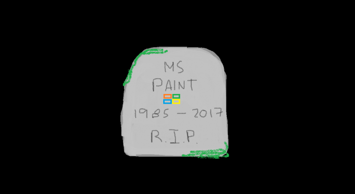 Microsoft will kill off Paint in 2017