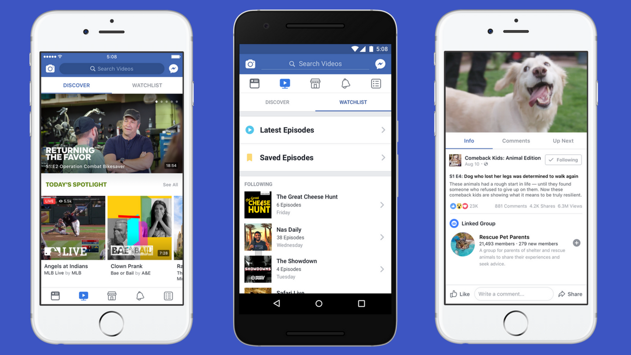 how to watch videos on facebook app