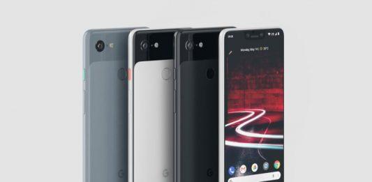 Pixel 3, Colors, Google