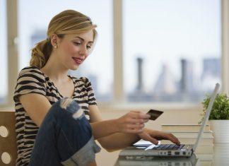 Female Shopping Online