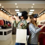 Women Experiencing VR Technology