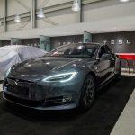 Tesla Model S in a Factory