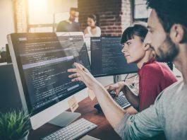 Developer Working with Java