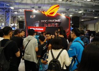 Asus Rog Phone 2 Booth