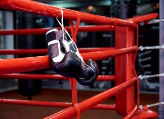 Boxing Gloves After Gym Sparring