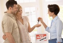 Real Estate Agent Selling Home