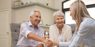 Senior Couple Making Financial Decision