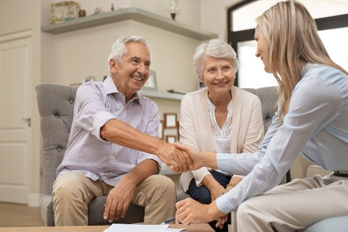 Senior Couple Making Financial Decision