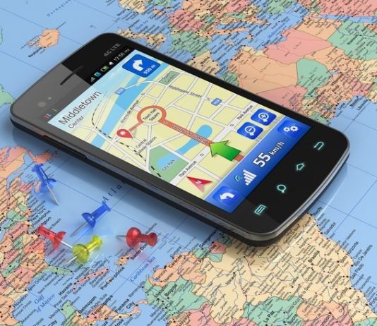 Smartphone GPS Tracking Number