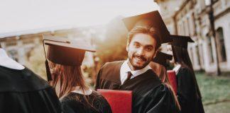 University Business Degree Graduate