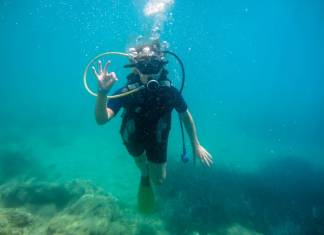 The Best Scuba Diving is in Komodo Island