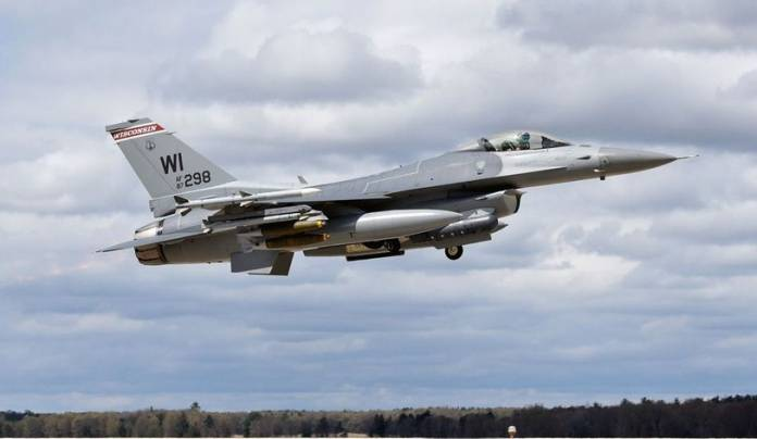 F-16 Fighter Jet Crashes In Michigan, Air Force Announces Death of Unnamed Pilot