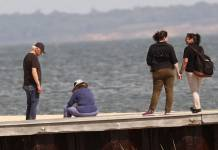 Bill Clinton & Wife Hillary Stroll the Beach as Monica Lewinsky Launches Film