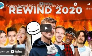 YouTube Rewind Canceled; Creators Can Continue With End-Of-Year Videos